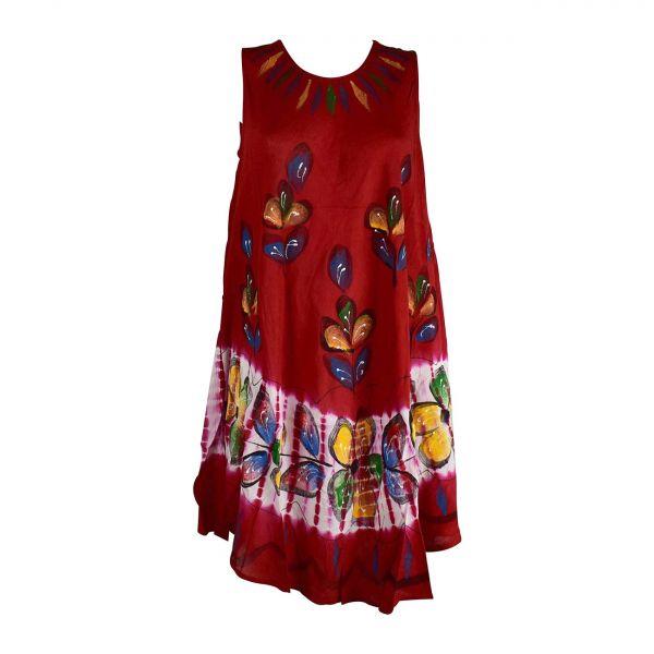 Robe Nadda Légère et Fluide Batik Peint