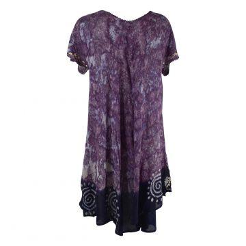 Robe Grande Taille Bijwani Tie Dye