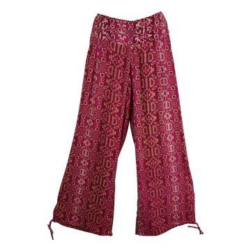 Pantalon Été Naricha Imprimé Géometrique Jam