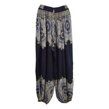 Pantalon Femme Patti Coupe Aladin Noir