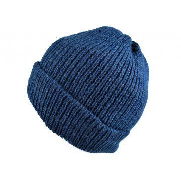 Bonnet Homme Sirpa Laine Bleu Pétrole