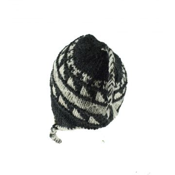 Bonnet Style Péruvien à Motifs Khola