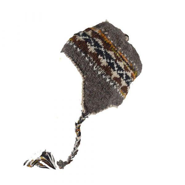 Bonnet Style Péruvien à Motifs Thak