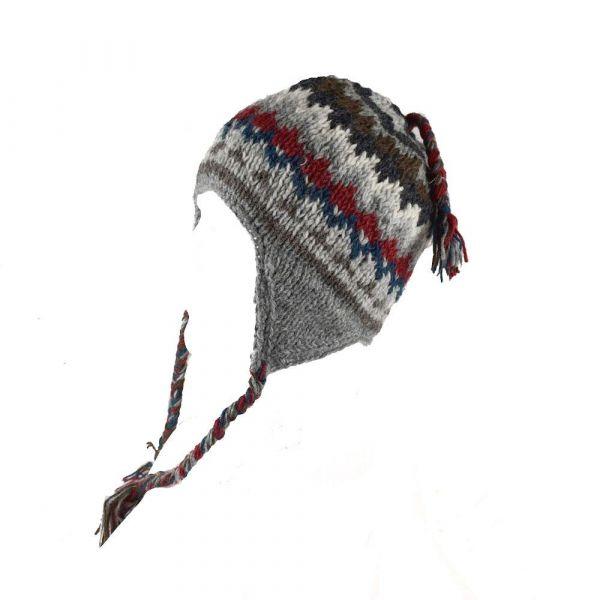 Bonnet Style Péruvien Unisexe à Motifs Dhikur