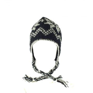 Bonnet Style Péruvien Unisexe à Motifs Dhital