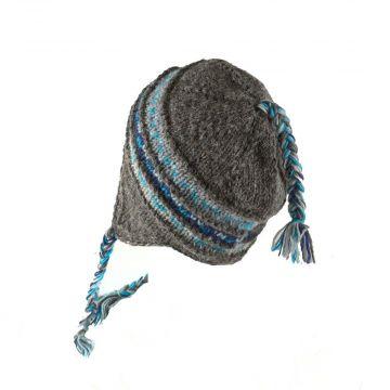 Bonnet Style Péruvien à Motifs Kusma