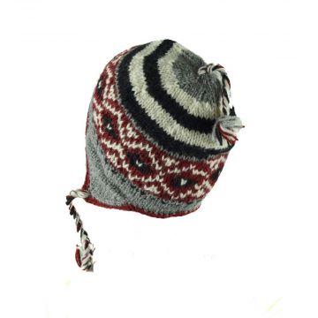 Bonnet Style Péruvien Unisexe à Motifs Rivan