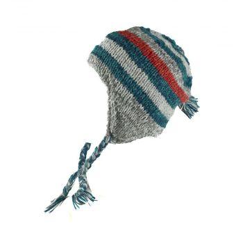 Bonnet Style Péruvien Unisexe à Motifs Deurali
