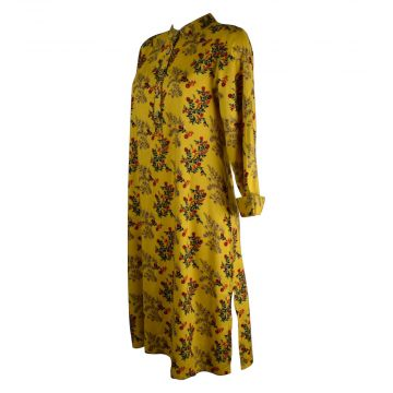 Robe Tunique Longue Mainpuri Col imperial