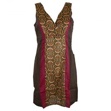 Robe Courte Katol Choco Imprimé