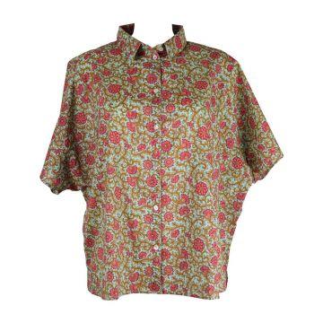 Chemisier Sankara Coton Imprimé Floral