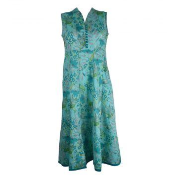 Robe Longue Madalia Coton Imprimé Floral