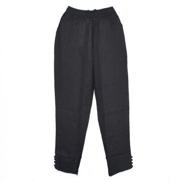 Pantalon Été Joda Coton Khadi Noir