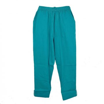 Pantalon Été Joda Coton Khadi Pétrole