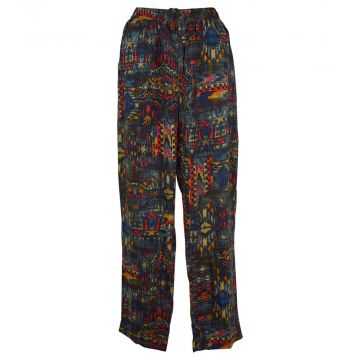 Pantalon Joda Fluide Imprimé Graphique Multicolore