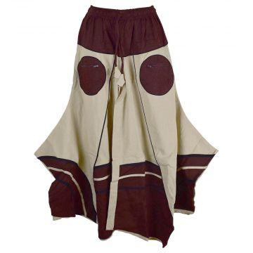 Jupe culotte Tekua Coton Tramage Artisanal