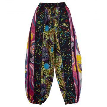 Pantalon Aladin Coton Été Multicolore HI-1590B