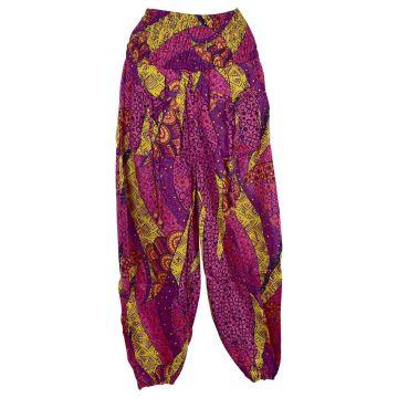 Pantalon Smocks Été Coton Fin Imprimé SPI-22
