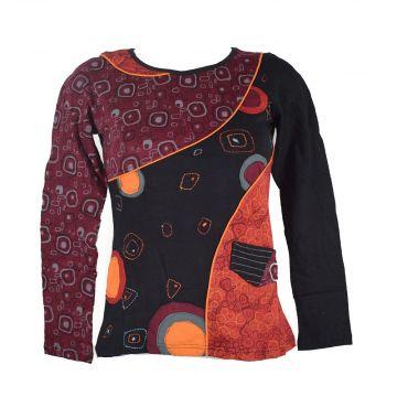 T-Shirt Ethnique jersey réf: EV14-14 Rouge
