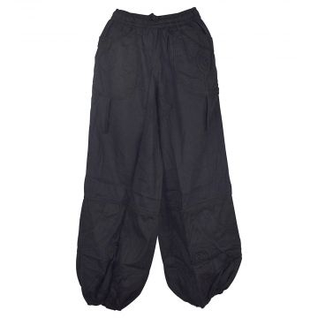 Pantalon Mixte Satna Coton Épais Noir