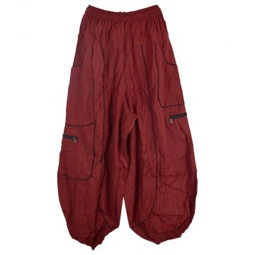Pantalon Dewas Rouge Coupe Large