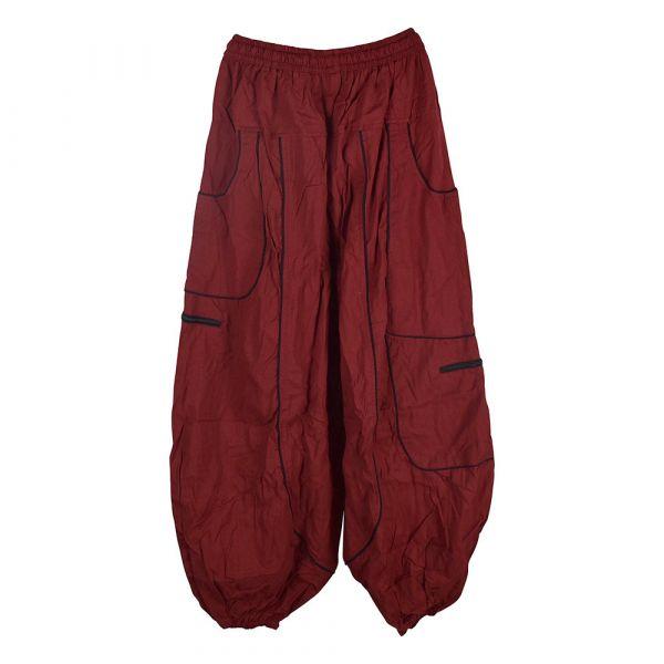 Pantalon Dewas Rouge Coupe Large