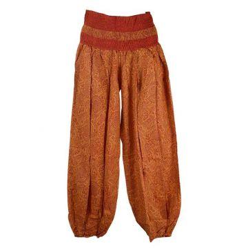 Pantalon Été Sunda Coton Imprimé Cachemire