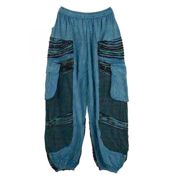 Pantalon Homme Padam Délavé Bleu