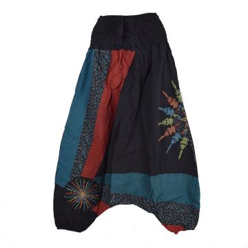 Sarouel Femme Ethnique Sedan Coton Artisanal