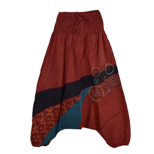 Sarouel Femme Jalna Coton Artisanal