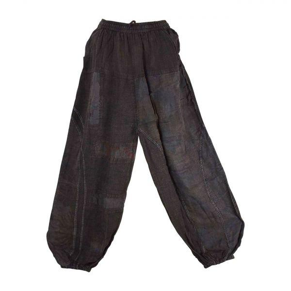 Pantalon Kowra Coton Khadi Délavé Marron