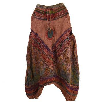 Sarouel Femme Tilra Coton Artisanal Stonewash