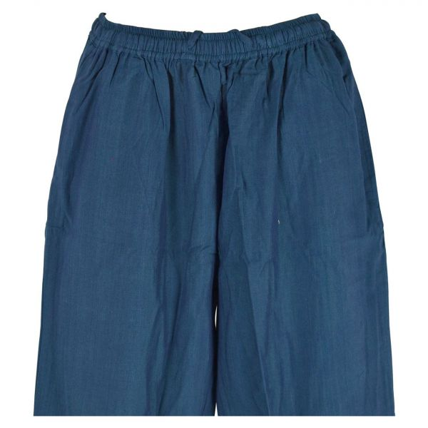 Pantalon Homme Kadhi Coton Artisanal Bleu