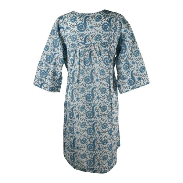 Robe Ample Dimda Imprimée motif Cachemire