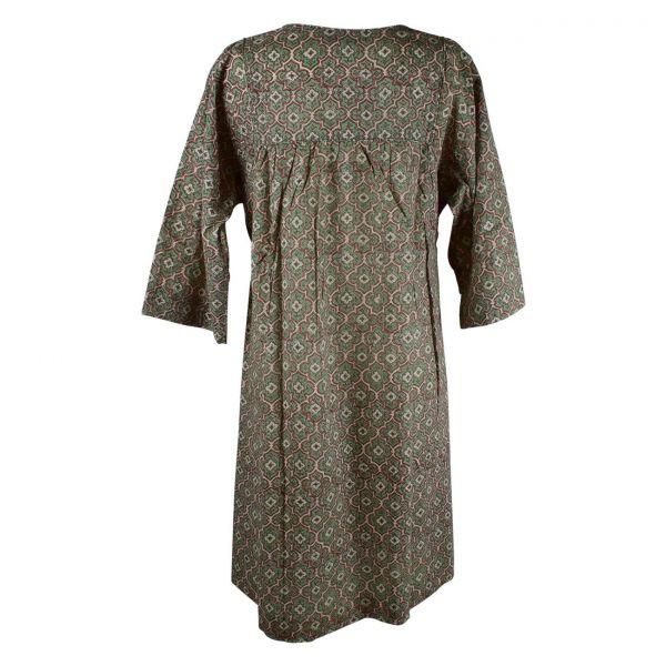 Robe Ample Dimda Imprimée Ethnique