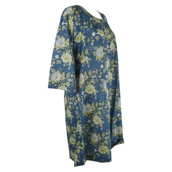 Robe Ample Dimda Coton Imprimée Floral