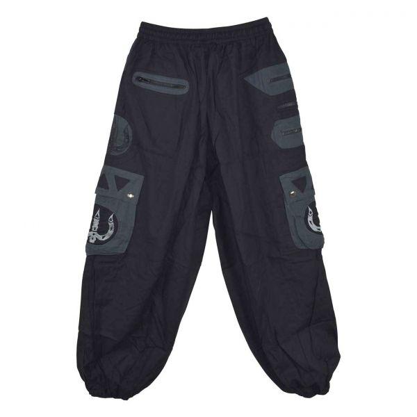Pantalon Homme Sarpang Noir et Gris