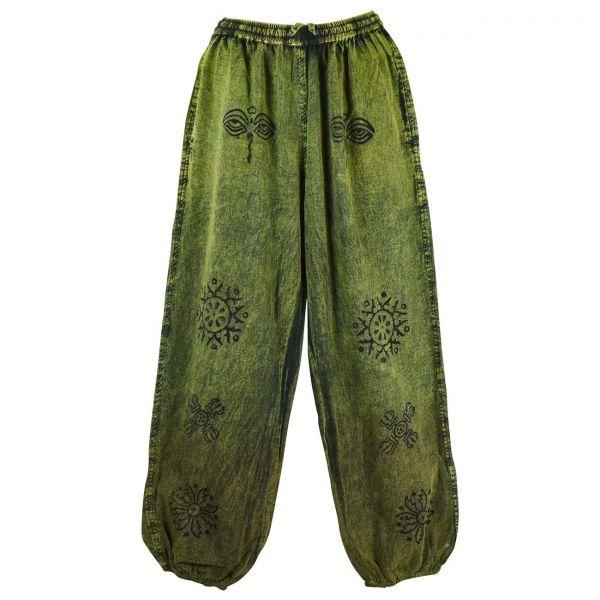 Pantalon Homme Chapcha Stonewash Coton Artisanal
