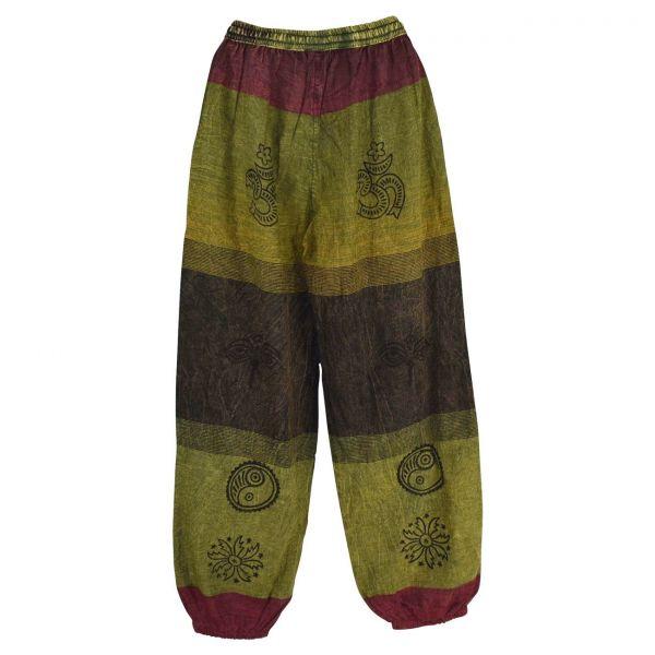 Pantalon Homme Chapcha Délavé Coton Artisanal