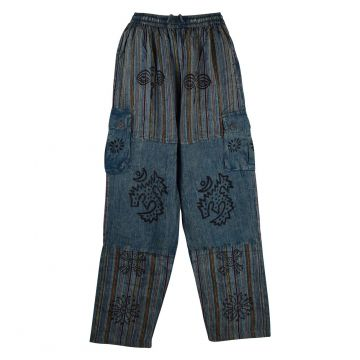 Pantalon Homme Tangla Stonewash Hand Made