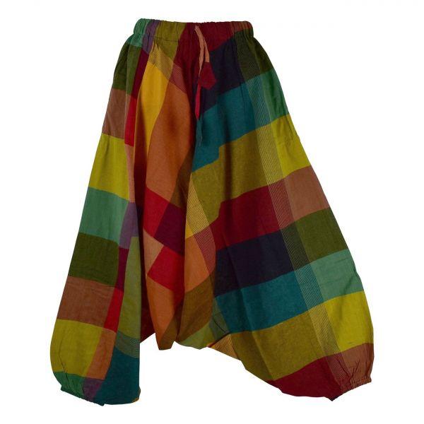Sarouel Mixte Dorji Coton Artisanal Kédhar Multicolore