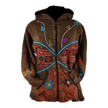 Sweater Femme Majuli Jersey Imprimé Ethnique