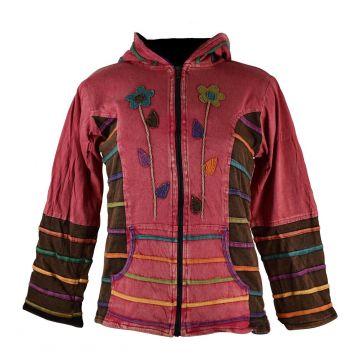 Sweater Femme Tanore Jersey Délavé et Floral