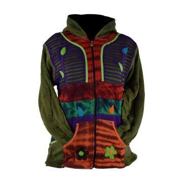 Sweater Ethnique Joway Coton Jersey doublé Polaire