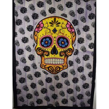 Tenture Death's-Head TE21-02 Multicolore