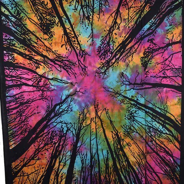 Tenture Forêt Multicolore TE21-04