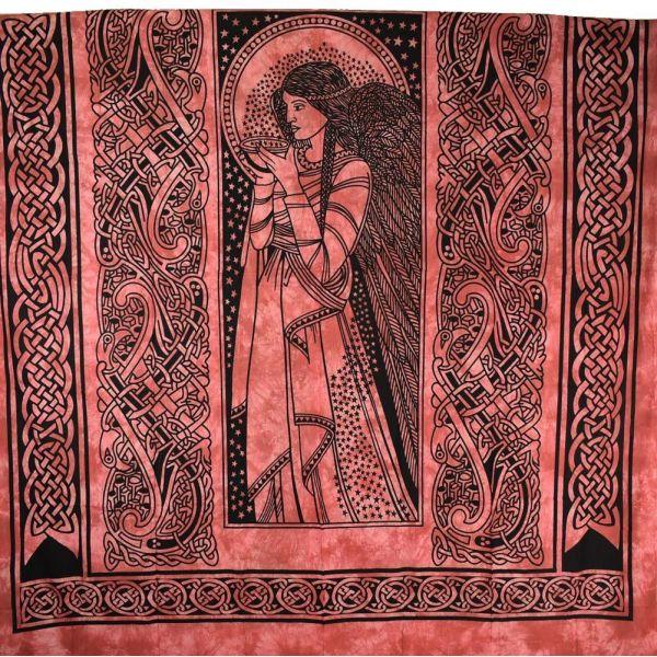 Tenture Murale Magic Ladie Bordeaux 210X240 cm