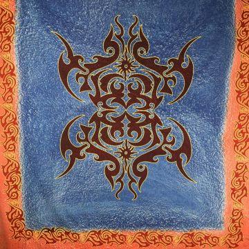 Tenture Murale Celtic Bleu 210X240 cm