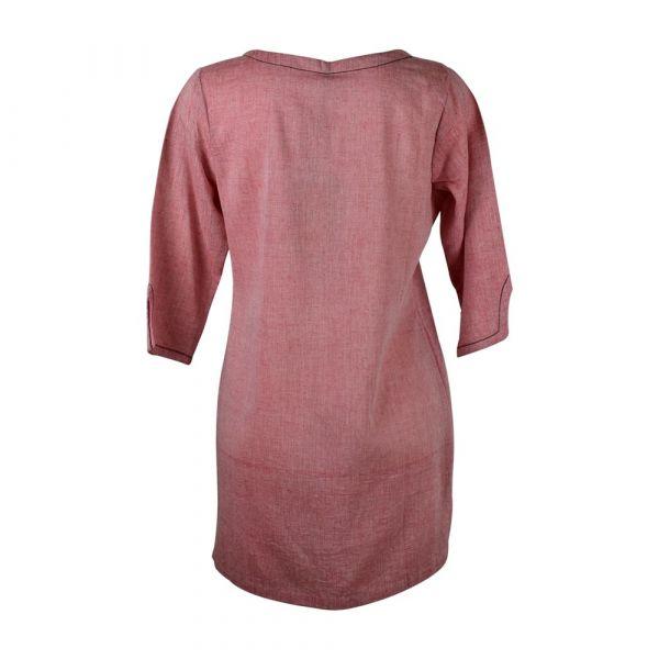 Tunique Khadi Coton Artisanal Parme