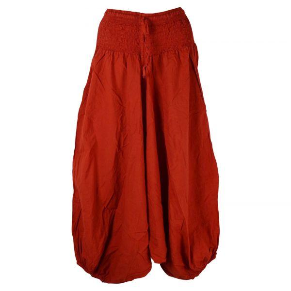 Sarouel Femme Masina Coton Rouge